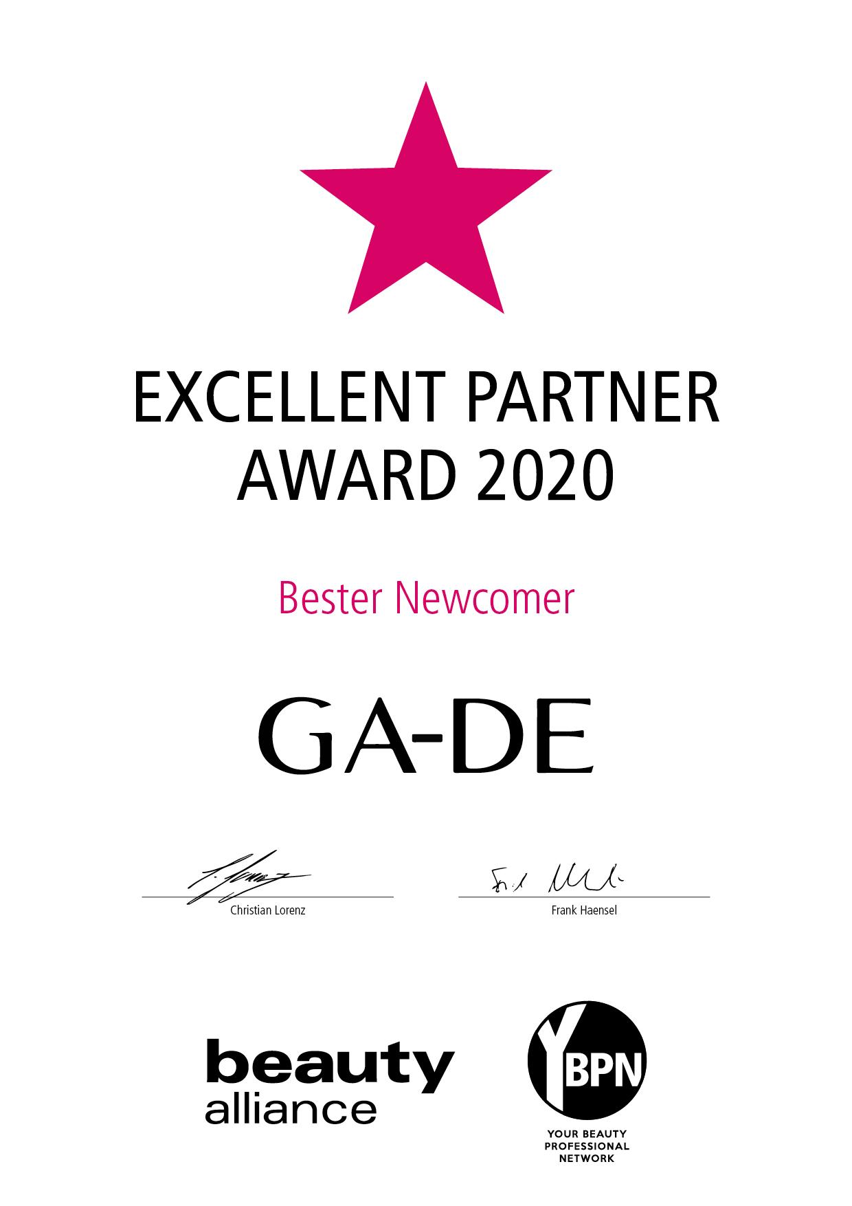 Urkunde_GA_DE_Newcomer_2020