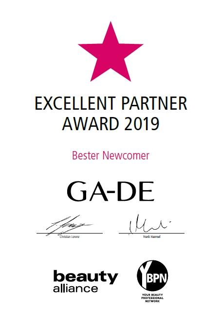 Excellent Partner Award 2019_GA-DE